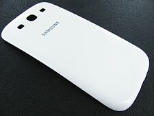 White Back Battery Door Cover Case Samsung Galaxy S3 L710 I535 i9300 T999 i747