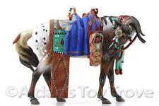 Breyer Horse - NIB 7111184 Dances With Wolves - BreyerFest Porcelain Indian Tack