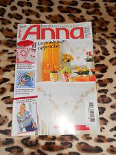 MAGAZINE ANNA Burda,n° 74 - Le printemps approche