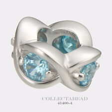 Authentic Endless Sterling Silver Sky Blue Heaven Bead 41400-4