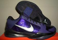386429 500 NEW NIKE ZOOM KOBE BRYANT V 5 INK PURPLE BLACK BASKETBALL SHOES 10.5