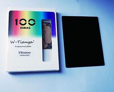 100 x 130 mm de densidad neutra ND1000 filtro de vidrio óptico (3.0,-10 paradas)