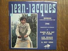 EUROVISION 1969 EP FRANCE JEAN-JACQUES+