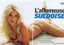 COUPURE DE PRESSE CLIPPING 2005 VICTORIA SILVSTEDT  (6 pages)