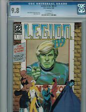 L.E.G.I.O.N. '89 #1  CGC 9.8  DC Comic By Keith Giffen & Barry Kitson: Legion