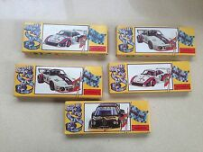 """Lot 5 Vintage 1960-70 Race Car Toy Kit  Made in Italy By"""" Games"""""""