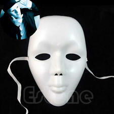 Theatrical Mask Full Face Mardi Gras Masks Costume Face White Mask Costume Mask