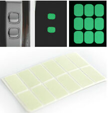 60pcs/5set PVC Glow in the Dark Sticker Labels for Door Light Switch Button