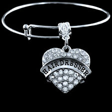 Hairdresser bracelet  Lowest price Hairstylist jewelry gift  Austrian Crystals
