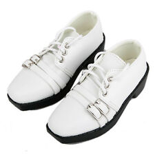 [wamami] SD17 White Synthetic Leather Shoes For DZ70 70CM LUTS BJD Dollfie ~9cm