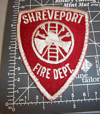 Shreveport Fire Department embroidered patch, cool older collectible