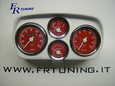 CRUSCOTTO COMPLETO ABARTH PER FIAT 500 TUTTE - DASHBOARD