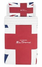 BEN SHERMAN SINGLE DUVET SET UNION JACK POLY/COTTON 50/50 official product BNIP