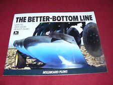 John Deere The Better Bottom Line Moldboard Plows Dealers Brochure DKA4 88-10