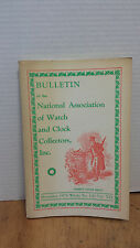 Bulletin of the National Ass. of Watch & Clock Collectors, Inc.  12/1970