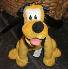 "Pluto Walt Disney World Soft Toy Approx 8"" 2005 - Free P&P"