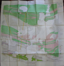 Color Map Township of Ashmore District Thunder Bay Ontario Canada Geraldton 1952