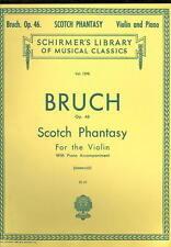 Max Bruch Scotch Phantasy Op 46 Violin & Piano Sheet Music