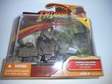 Indiana Jones Last Crusade German Soldier Motorcycle Hasbro Action Figure