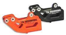 T.M. Designworks Dirt Cross Polifibar Chain Guide Shell Orange RCG-SKT-OR