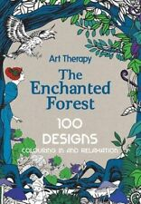 Art Therapy: Enchanted Forest by Jacqui Small LLP Hardback, adult colouring book