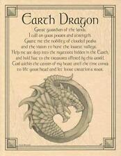 Earth Dragon Parchment Book of Shadows Page!