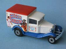 Matchbox MB-38 Ford Model A Van Circus Barum Clown Big Top Toy Model Car 65mm
