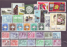 Germany East (Europe)-35 Diff. Used Good Condition Stamps #F30