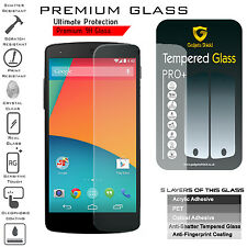 3 X Genuine Gadget Shield LG NEXUS 5 Tempered Glass Screen Protector Ultra Thin