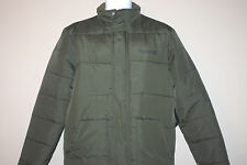 Hurley Mens Peninsula Thinsulate puffer green jacket Size Small light weight