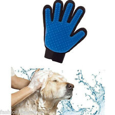 Pet Deshedding Cleaning Brush Glove Dog Cat Hair Massage Grooming Groomer Retro
