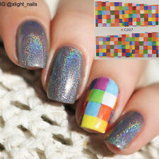 1pc Colorful Nail Art Water Decals Charming Transfer Manicure Stickers Decorate