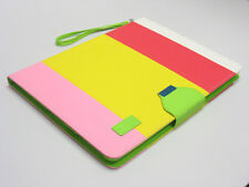 Hybrid PU Leather Wallet Flip Stand Case Hard Cover For iPad 2 3rd 4th Gen PYPW