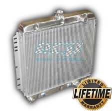 NEW Aluminum Radiator 1967 1968 1969 1970 Ford Mustang - NO 3 ROW GIMMICKS! -340