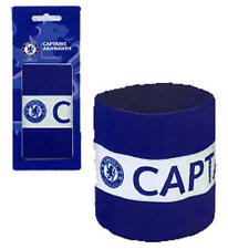 Chelsea Fc Blue & White Captains Armband Arm Band - Official