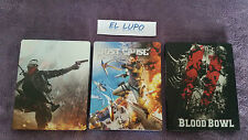 STEELBOOK HOMEFRONT THE REVOLUTION + JUST CAUSE 3 + BLOOD BOWL PS4