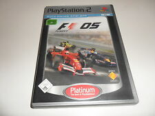 PlayStation 2  PS 2  F1 - Formel Eins 2005 (Platinum)