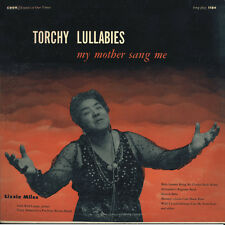 Lizzie Miles - Torchy Lullabies My Mother Sang Me [New CD]