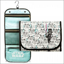 Star Wars Trooper Darth Vader Zippered Hanging Cosmetic Make-Up Travel Bag Purse