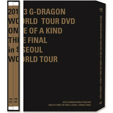 BIGBANG G-DRAGON DVD 2013 WORLD TOUR+ONE OF A KIND THE FINAL IN SEOUL 3 DISC+etc