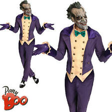 El Joker Para Hombre Halloween De Batman Villano Deluxe Fancy Dress Adultos Traje Traje