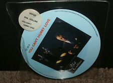 "You Can't Hurry Love Phil Collins 7"" vinyl picture disc single UK VSY531 HTF OOP"