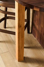 870mm Solid Oak Oiled Breakfast Bar Worktop Support Table Leg 80 mm Diameter