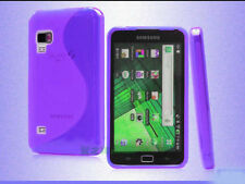 Purple S-Line Soft Plastic Gel Cover Case for Samsung Galaxy Player 5.0 YP-G70