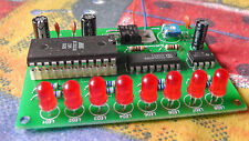 8 LED Luz Chaser Kit Eeprom Programable