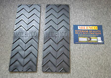 Pair of Milenco Heavy Duty Wheel Grip Mats For Motorhome Or Caravan