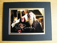 DAVID BRADLEY HAND SIGNED AUTOGRAPH 10X8 PHOTO MOUNT HARRY POTTER FILCH & COA