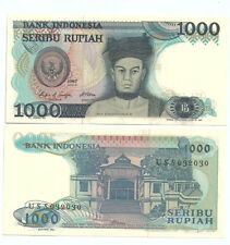 Indonesia 1000 Rupiah  Banknote UNC 1987