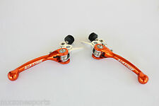 AIRTIME NEW FORGED BRAKE & CLUTCH LEVER SET KTM 350 FREE RIDE 2014-ORANGE(92S)