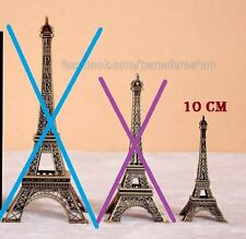 10cm Paris Eiffel Tower Table Decor Display Figure Centerpiece Cake Topper